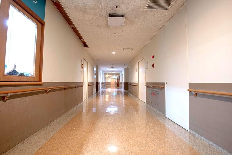 中央病棟 廊下