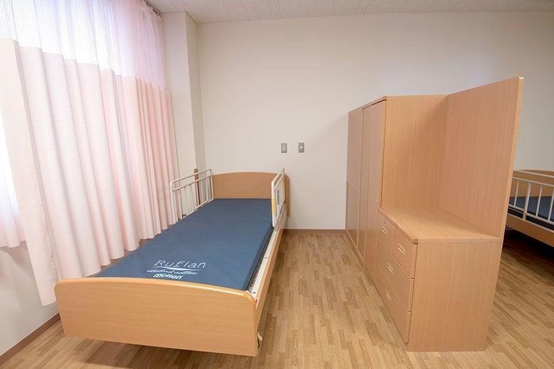 中央病棟 病室4人部屋